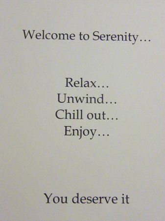 Serenity Country Escape B&B: you really deserve it!