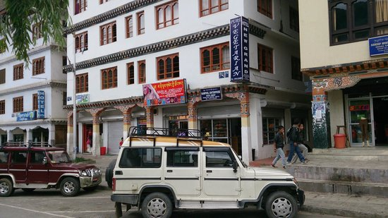Vegetarian Restaurant In Thimpu Review Of Hotel New Grand