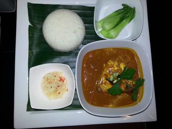 Llawa The Dining Lounge: Delicious Malay Fish Curry