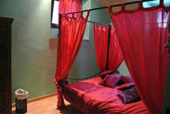 Shiva B&B : Il letto