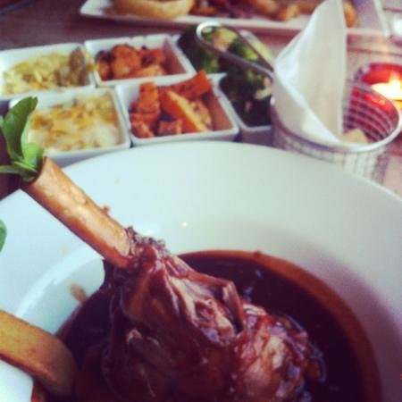 Cross Butts Stables Restaurant: lamb shank was #amazing!