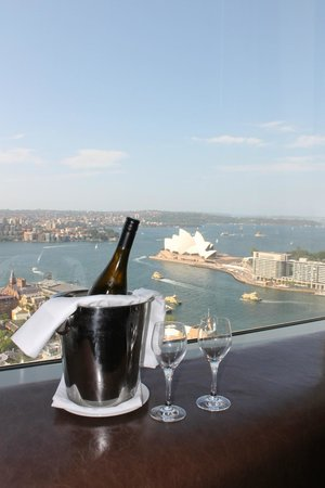Shangri-La Hotel Sydney: view from the room