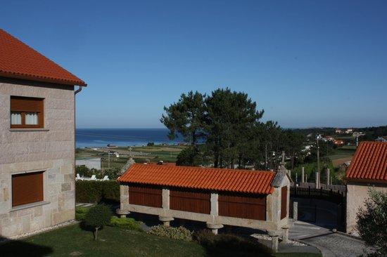 Eira do Mar: Vista desde la puerta de la habitación