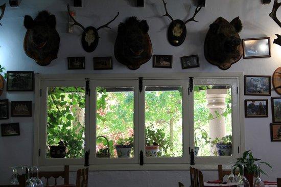Hotel Rural Noguera de la Sierpe: recepcion