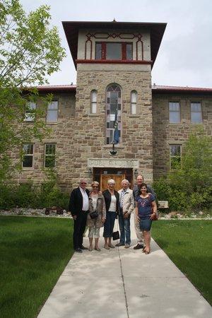 Stone School Inn: Some of grandpa's US and Norwegian family