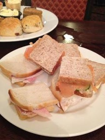 Last Drop Village Hotel & Spa : Sandwiches