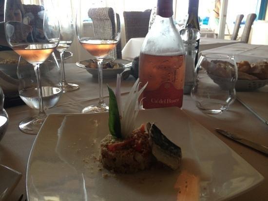 Ristorante La Pineta: panzanella con lo sgombro...! eccezionale   By Santoro