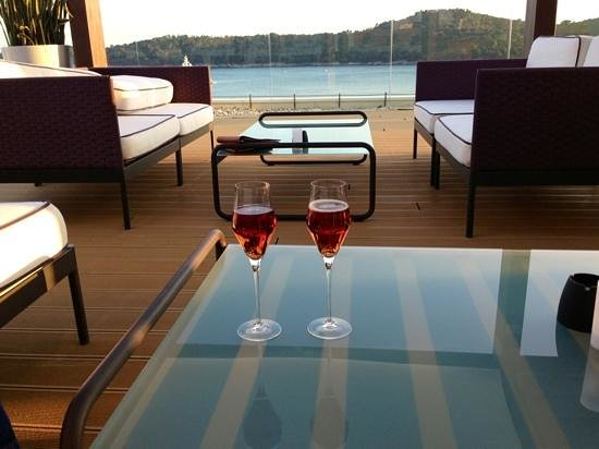 Villa Dubrovnik: Perfect view for a Kir royale