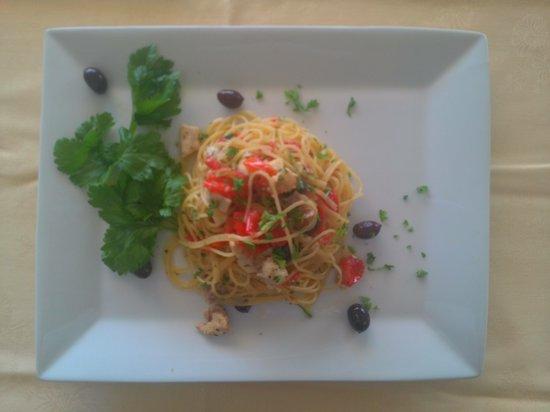 ristorante la conchiglia : spaghetti alla reggitana