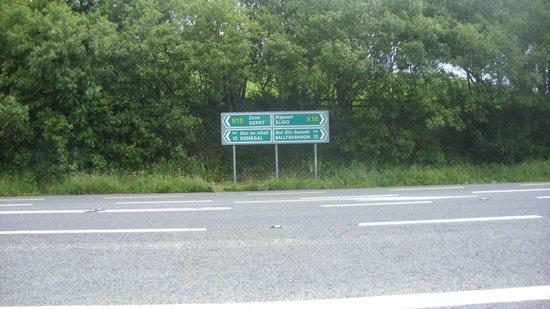 Murvagh Links Manor: location