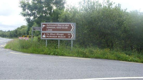Murvagh Links Manor: Road signs