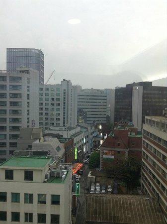 Aventree Hotel Jongno: вид из номера
