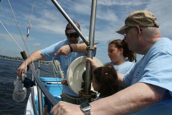 Project Oceanology: Water Sampling