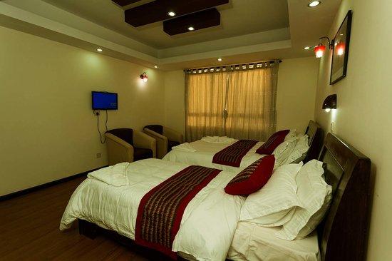 Kathmandu Home Hotel: Twin Deluxe Room