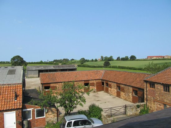 Foulsyke Farmhouse: View from Loft Suite