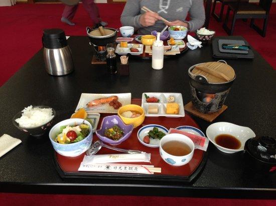 Nikko Tokanso: Breakfast