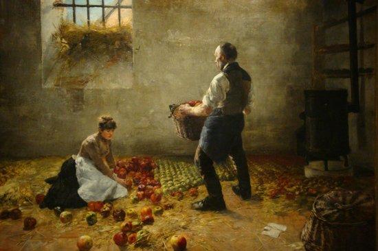 Ungarische Nationalgalerie (Magyar Nemzeti Galéria): Apfelernte