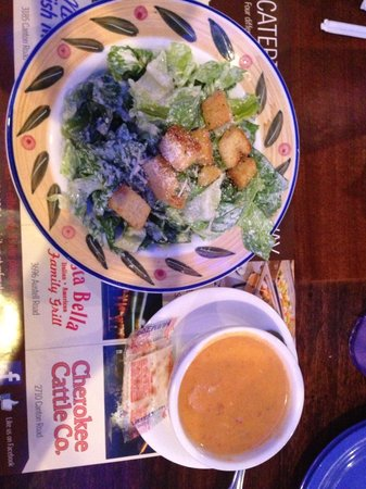 Marietta Fish Market: Caesar and Bisque
