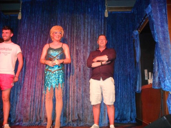 Lively Lady Show Bar: husband joining in
