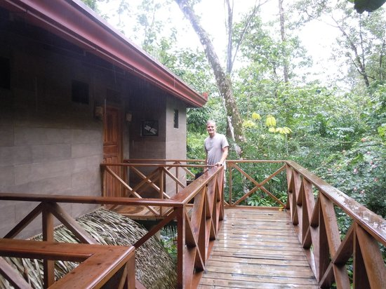 Waterfall Villas: Outside our room