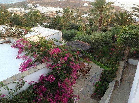 Kavos Boutique Hotel Naxos: une partie de la vue a 360 de la terrasse