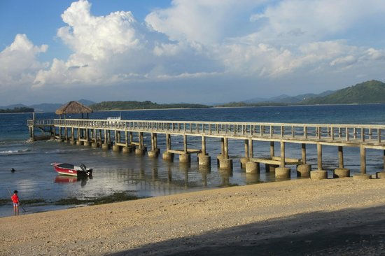 Cocotinos Sekotong, Boutique Beach Resort & Spa: Jetty, breezy most of the evenings