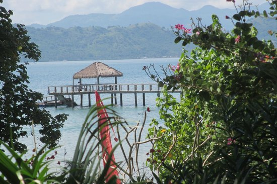 """Cocotinos Sekotong, Boutique Beach Resort & Spa: """"Pondok"""" at end of Jetty"""