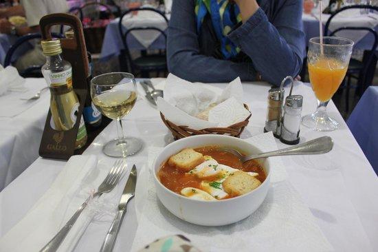 Restaurante Riviera : tomato soup