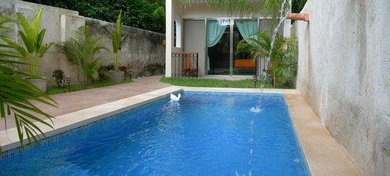 Casa Del Maya: Pool and Chaac Room