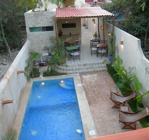 Casa Del Maya: View from Balam room