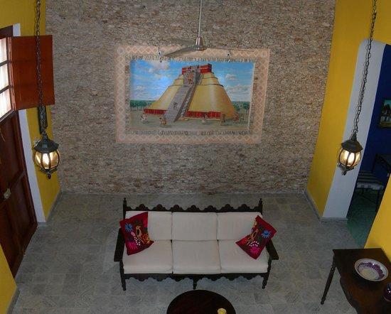 Casa Del Maya: Uxmal mural