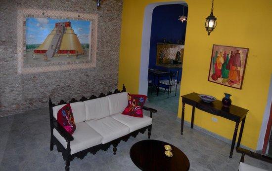 Casa Del Maya : Living Room/Sala