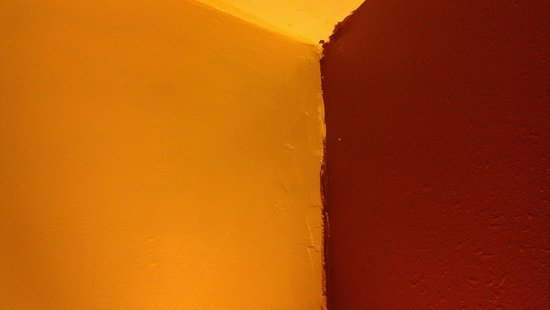 Quality Inn Historic East - Busch Gardens Area: Poor quality paint job tells about quality of maintenance in general!