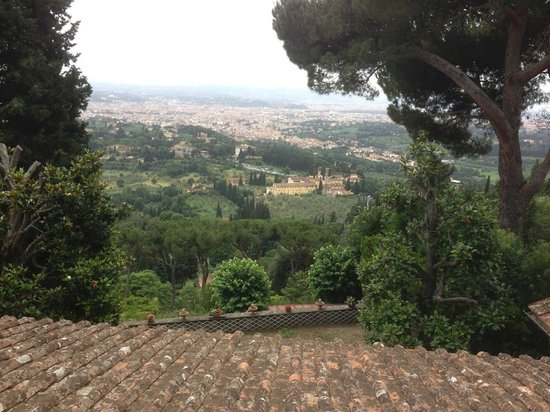 FH Villa Fiesole Hotel : View from Fiesole overlooking Florence