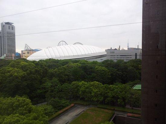 Koraku Garden Hotel: 外の景色