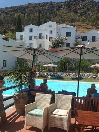 Creta Blue Suites : fantastic views whilst dining