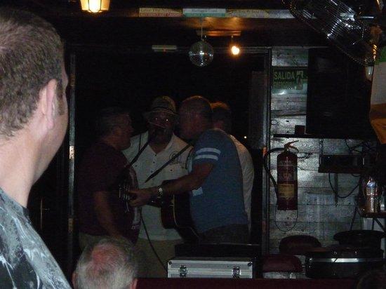 The Harp bar: Charlie & friends