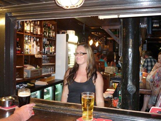 The Harp bar: Mary