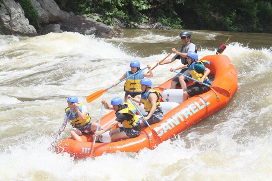 Cantrell Ultimate Rafting : Lower New River - Cantrell Rafting