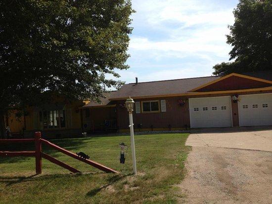 Rohn House and Farm: CMU Ultimate Fan house