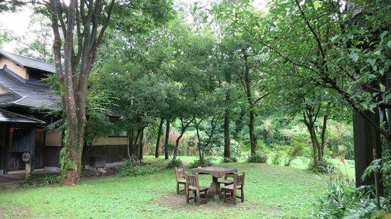 Yamashinobu: Spa inside