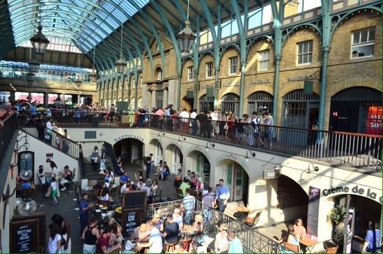 SANDEMANs NEW Europe - London: Covent garden.