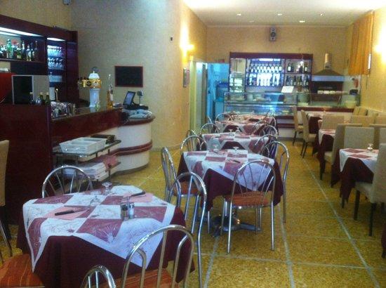 Pizzeria Marabu: la sala