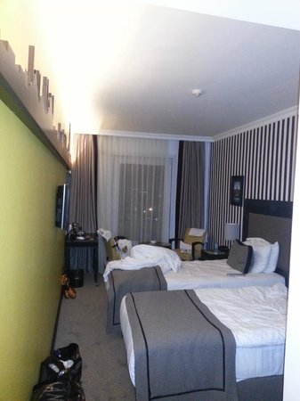 Avantgarde Taksim Hotel: twin room