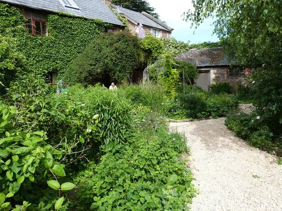 "Glewstone Court: The ""Secret Garden"",our room is not the Potting Shed!"