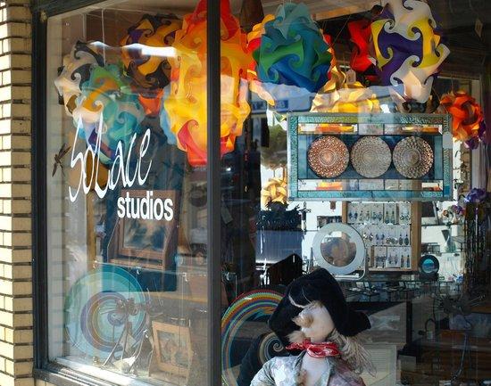Elkton, VA: Exterior of Solace Studios