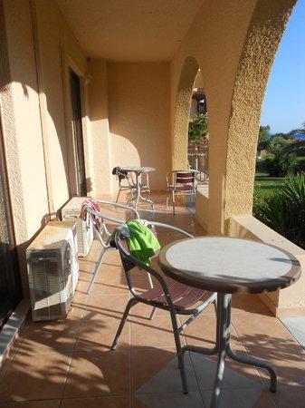 Terrazzo di una family suite (a family suite\'s balcony) - Picture of ...