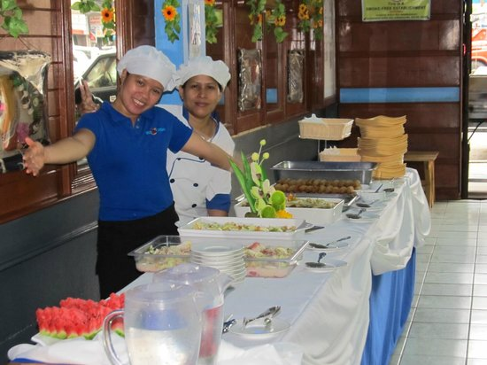 Blue Carabao Diner: Always a warm welcome.