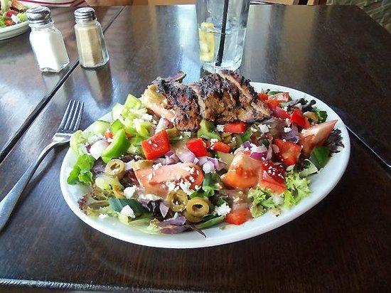 The Granite : Steak and Greek Salad - $17