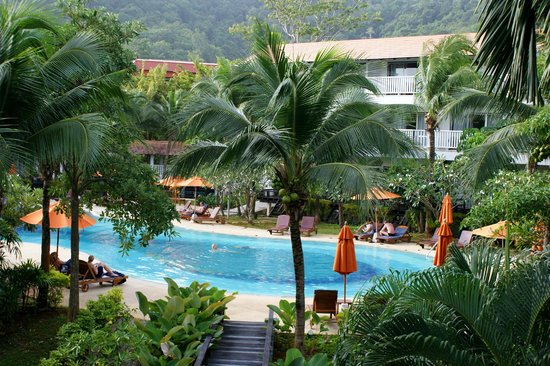 Aonang Villa Resort: View from our room